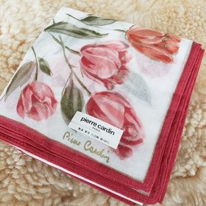 Vintage 1970 pierre Cardin Handkerchief